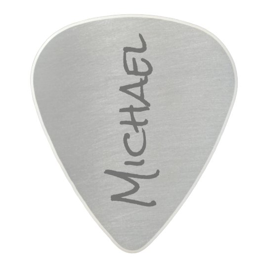 cool & stylish grey rock acetal guitar pick