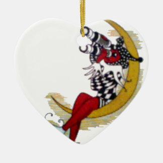 Cool Stylish Hakuna Matata Star Gifts  Wizard Ceramic Heart Ornament