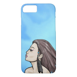 Cool Summer Breeze Girl iPhone 7 Case