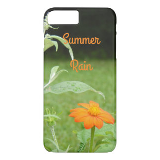 Cool Summer Rain Flower Photo iPhone 7 Plus Case