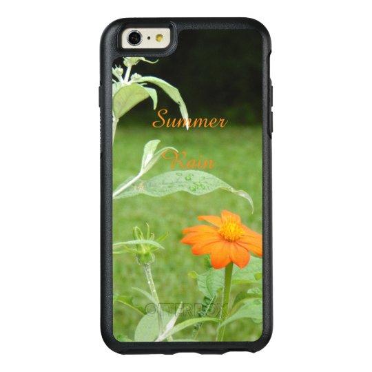 Cool Summer Rain Flower Photo OtterBox iPhone 6/6s Plus Case