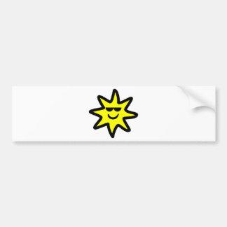 Cool Sun Bumper Sticker