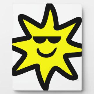 Cool Sun Plaque