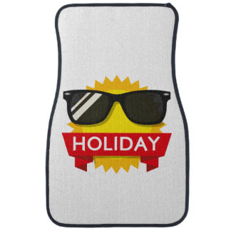 Cool sunglass sun car mat