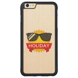 Cool sunglass sun carved maple iPhone 6 plus bumper case