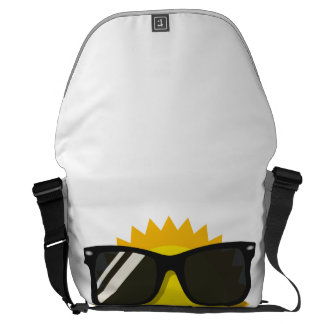 Cool sunglass sun courier bag