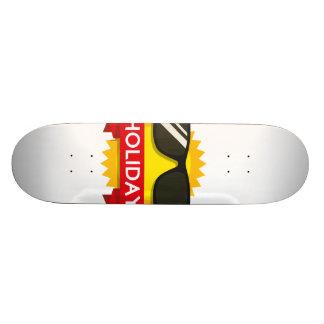 Cool sunglass sun custom skate board