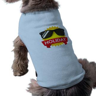 Cool sunglass sun doggie tee shirt