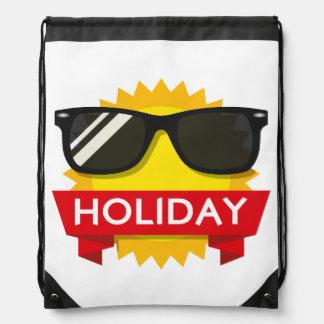 Cool sunglass sun drawstring bag