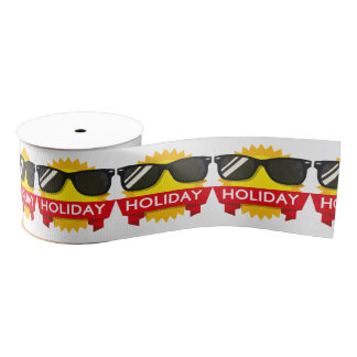 Cool sunglass sun grosgrain ribbon