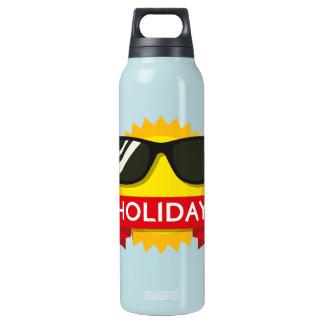 Cool sunglass sun insulated water bottle