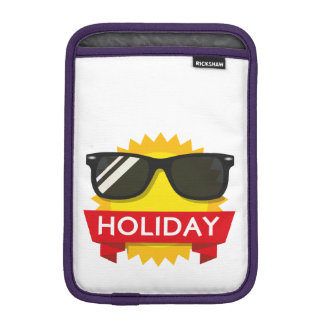 Cool sunglass sun iPad mini sleeve