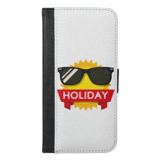 Cool sunglass sun iPhone 6/6s plus wallet case