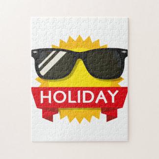 Cool sunglass sun jigsaw puzzle