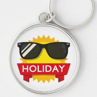 Cool sunglass sun keychain