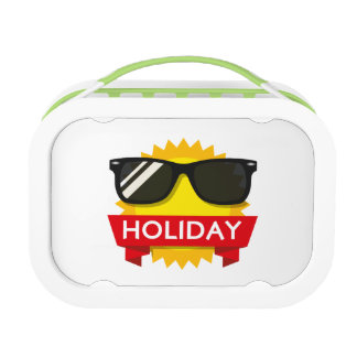 Cool sunglass sun lunch boxes