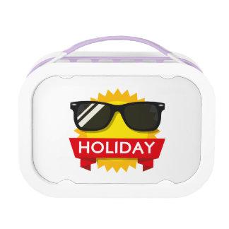 Cool sunglass sun lunchbox
