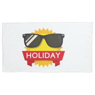 Cool sunglass sun pillowcase