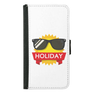 Cool sunglass sun samsung galaxy s5 wallet case