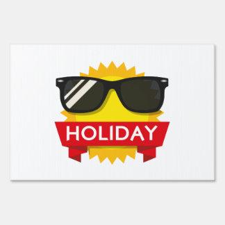 Cool sunglass sun sign