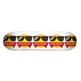 Cool sunglass sun skate board