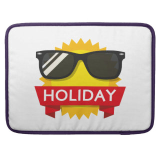 Cool sunglass sun sleeve for MacBook pro