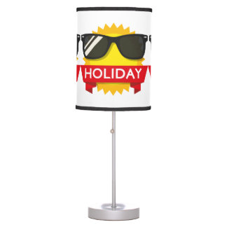 Cool sunglass sun table lamp
