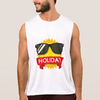 Cool sunglass sun tank top