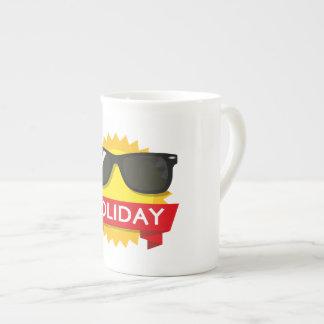 Cool sunglass sun tea cup
