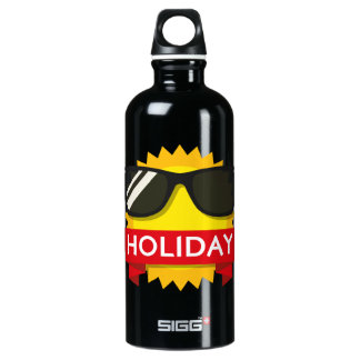 Cool sunglass sun water bottle