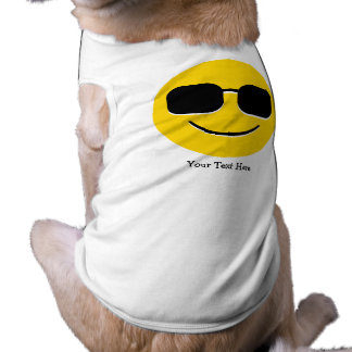 Cool Sunglasses Emoji (customizable) Shirt