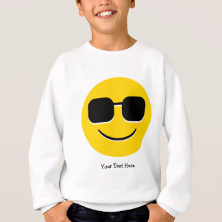 Cool Sunglasses Emoji (customizable) Sweatshirt