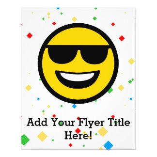 Cool Sunglasses Emoji Flyer