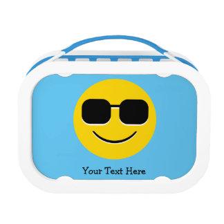 Cool Sunglasses Emoji Lunch Box