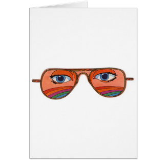 Cool Sunglasses Eyes 1 Greeting Cards