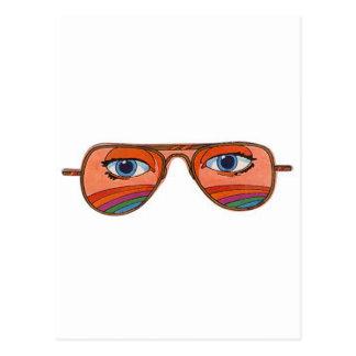 Cool Sunglasses Eyes 1 Postcards