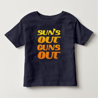 COOL SUN'S OUT GUNS OUT TEE SHIRT