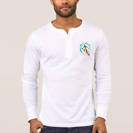 Cool Surfer -  Hippie Fish Tee Shirt