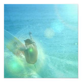 Cool Surfer Custom Invite