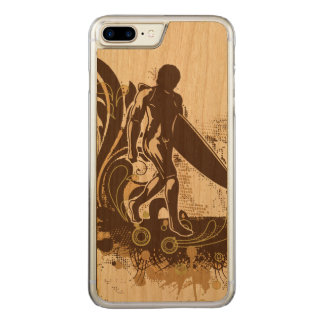 Cool Surfing Theme Carved iPhone 8 Plus/7 Plus Case