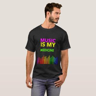 ♪♫🎵ⓜⓤⓢⓘⓒ  ⓘⓢ  ⓜⓨ  ⓜⓔⓓⓘⓒⓘⓝⓔ 🎵♪♫ Cool t-shirt