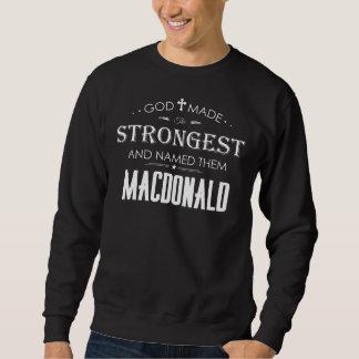 Cool T-Shirt For MACDONALD