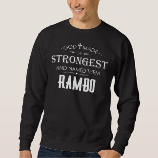 Cool T-Shirt For RAMBO