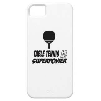 Cool table tennis designs case for iPhone 5/5S