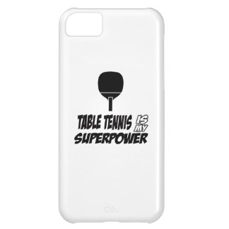 Cool table tennis designs case for iPhone 5C