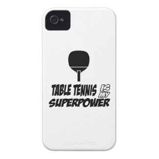 Cool table tennis designs iPhone 4 Case-Mate cases