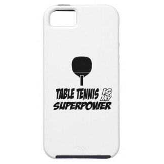 Cool table tennis designs iPhone 5/5S cover