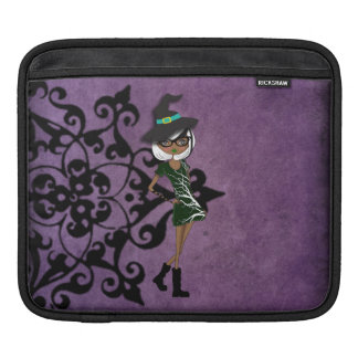 Cool Tattoo Girl Doll Design iPad Sleeve