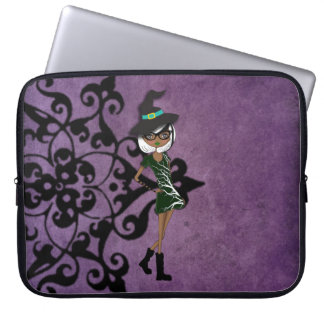 Cool Tattoo Girl Doll Design Laptop Computer Sleeve