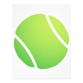 Cool Tennis Ball for tennis team jerseys Letterhead